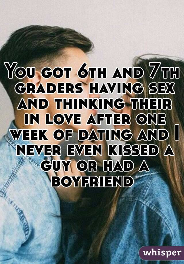 Sex after dating for 3 weeks