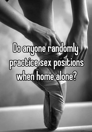 How do you practice having sex by yourself