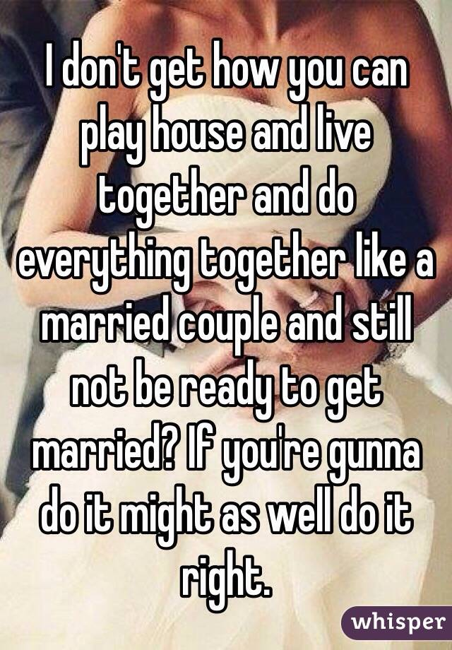Does house get married