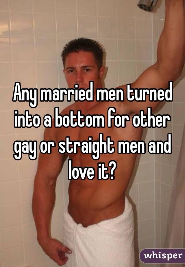 Gay men fucking married men