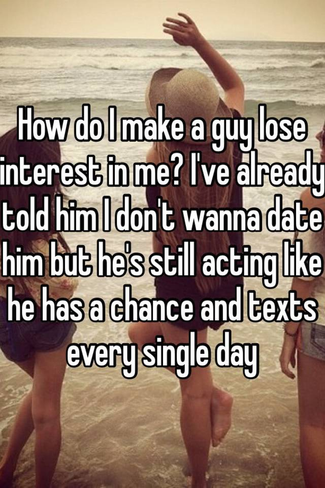 what makes a guy lose interest