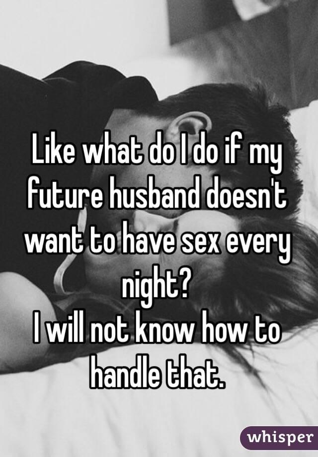 She truely loves sex