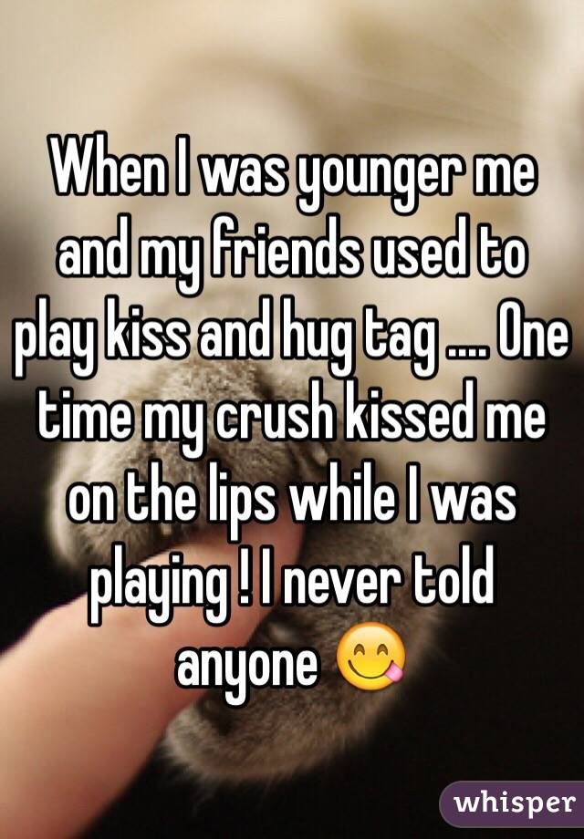 My Friend Kissed Me On The Lips