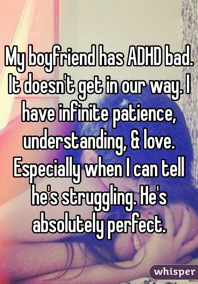 adhd boyfriend doesnt text