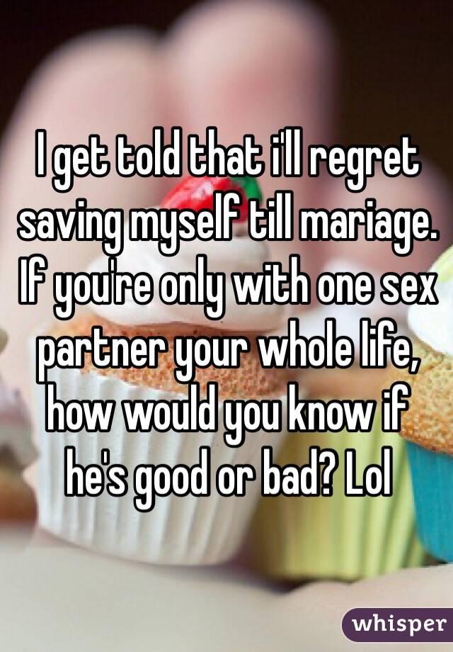 One sex partner