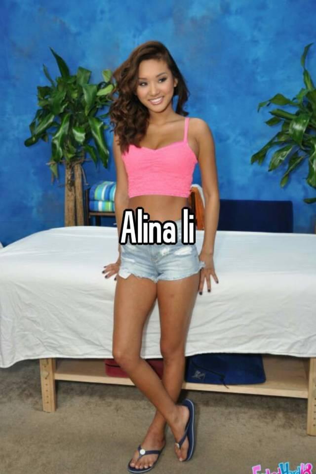 Alina Li photos