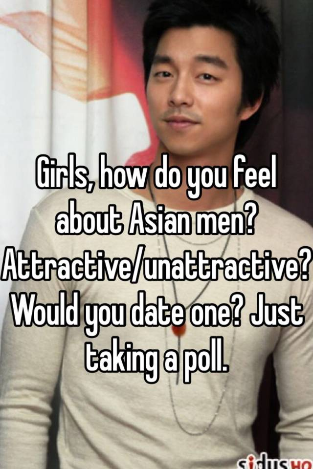 what is it like to date an asian man