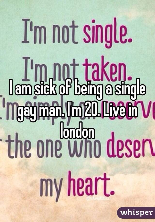 Why Am I Gay And Single