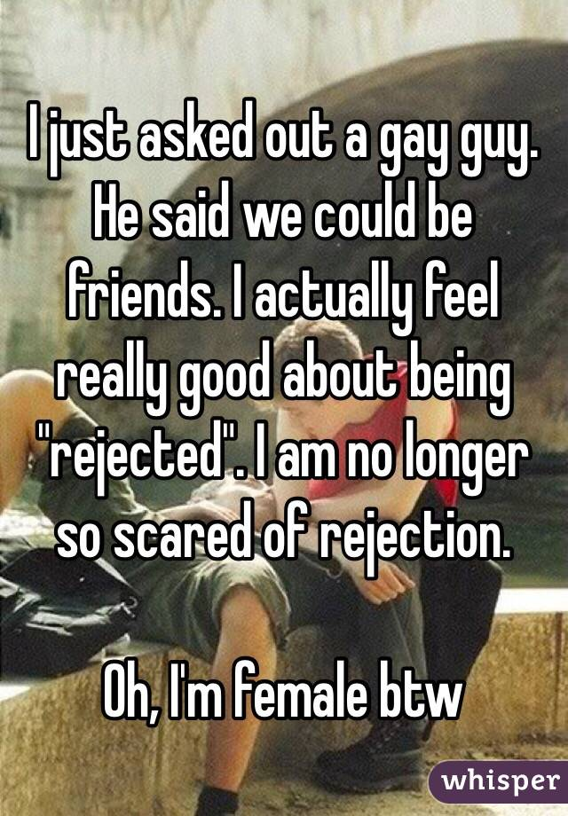 Why am i so scared of rejection