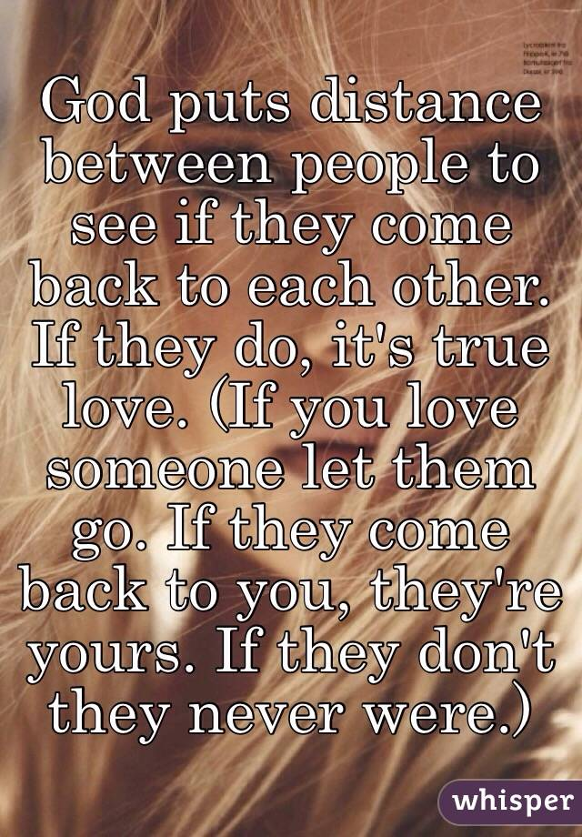 How do u know if its true love