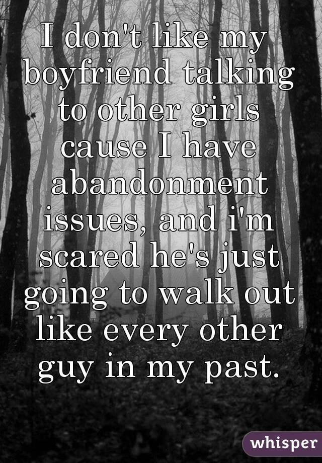 Girls with abandonment issues