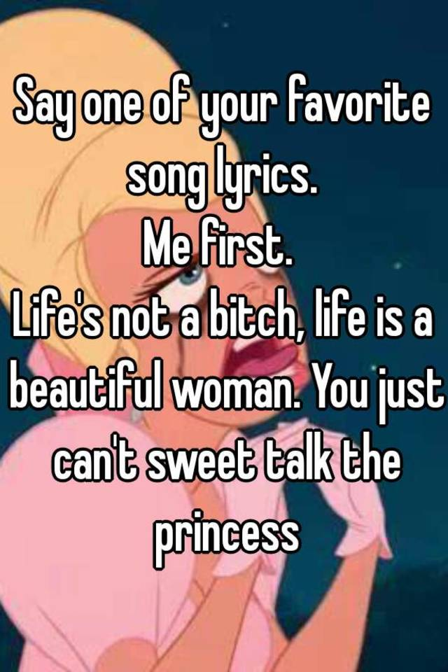 Beautiful woman song lyrics