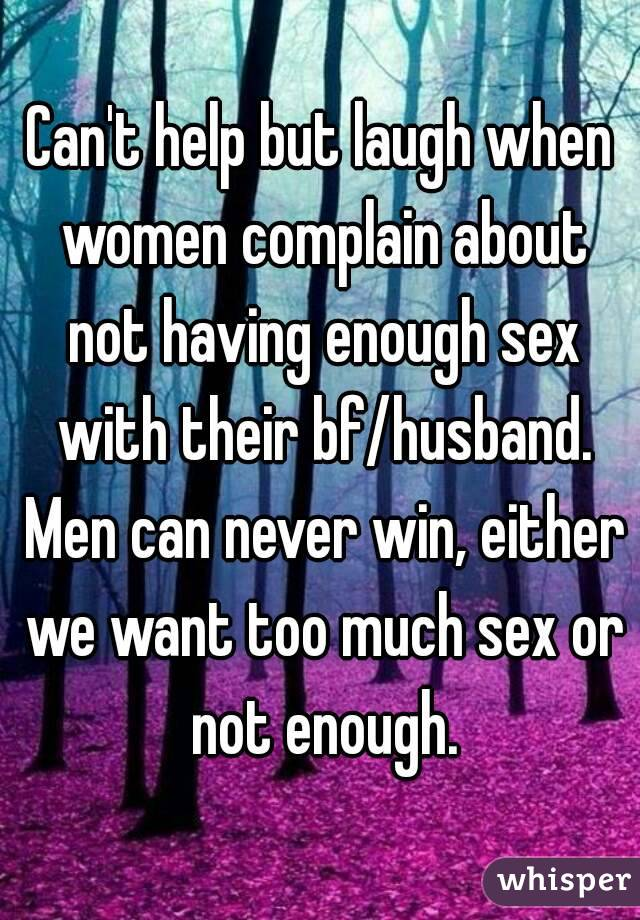 Women who dont have sex with their husbands
