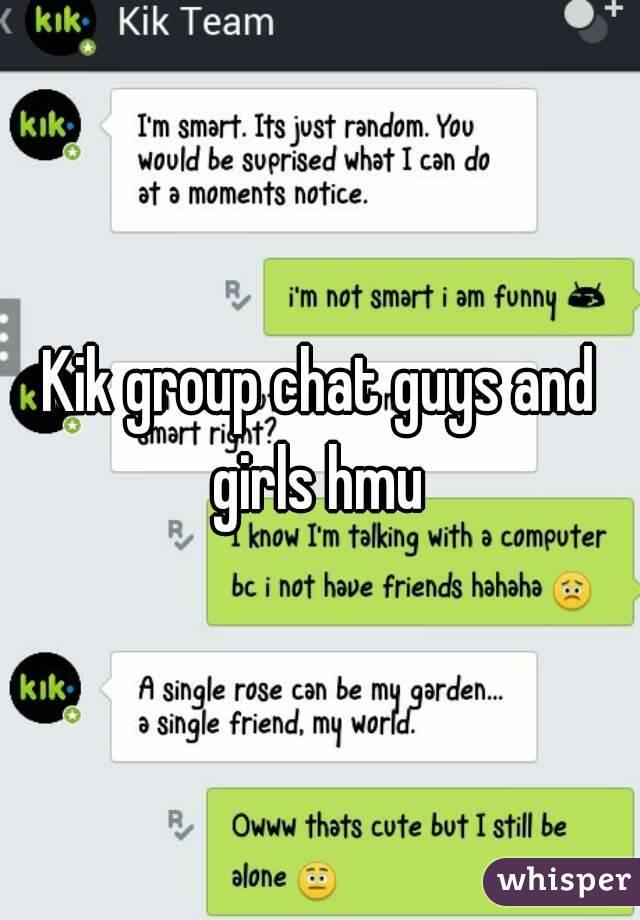 Single girls on kik