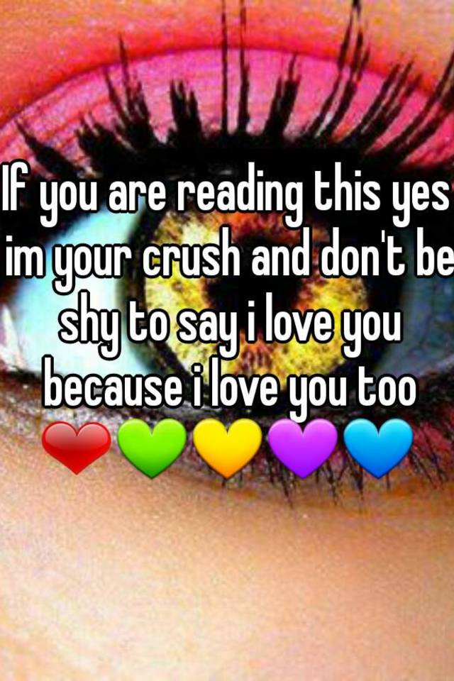 How to say i love you to your crush