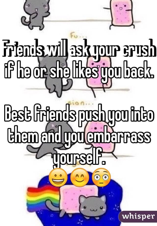 crush likes you back