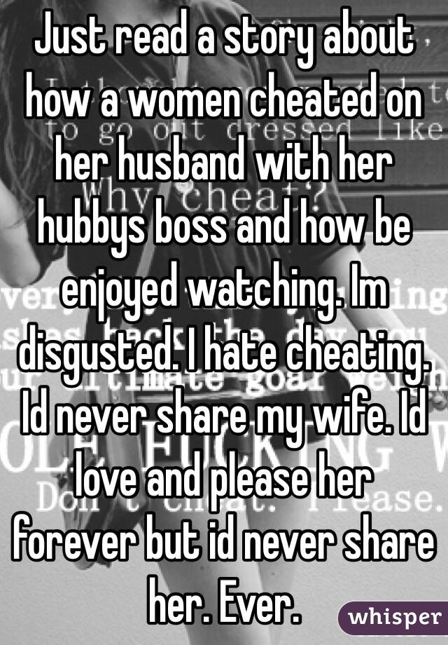 Stories Of Wife Cheating