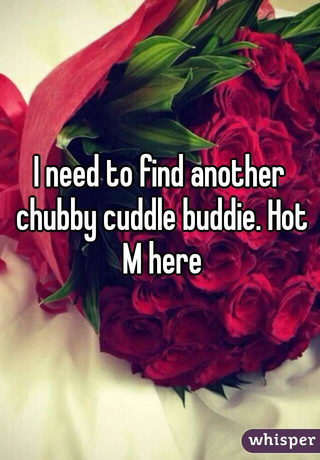 I need to find another chubby cuddle buddie. Hot M here