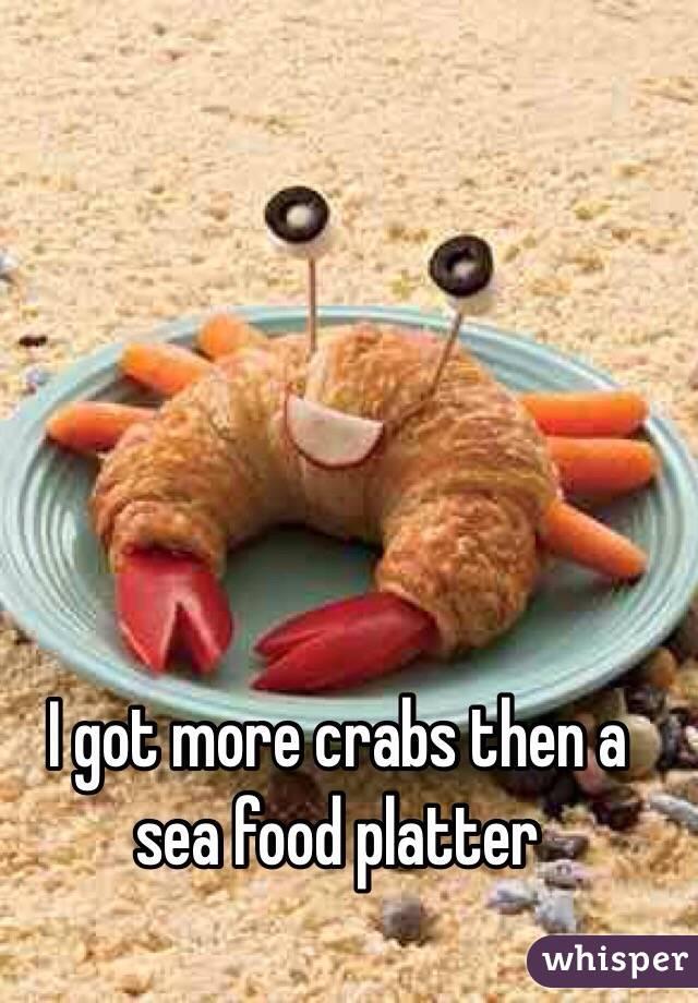 I got more crabs then a sea food platter