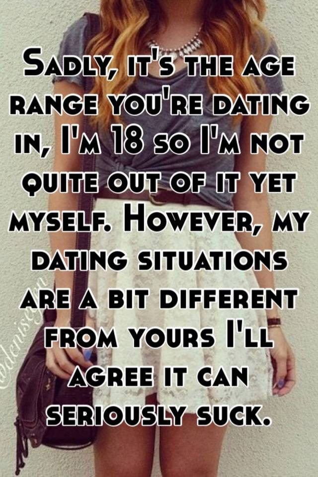 What should my dating age range be