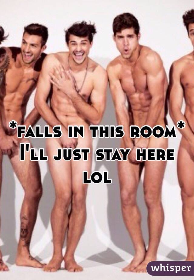 *falls in this room* I'll just stay here lol