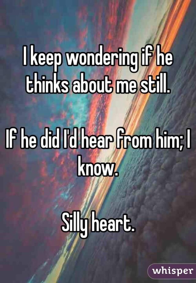 keep him wondering