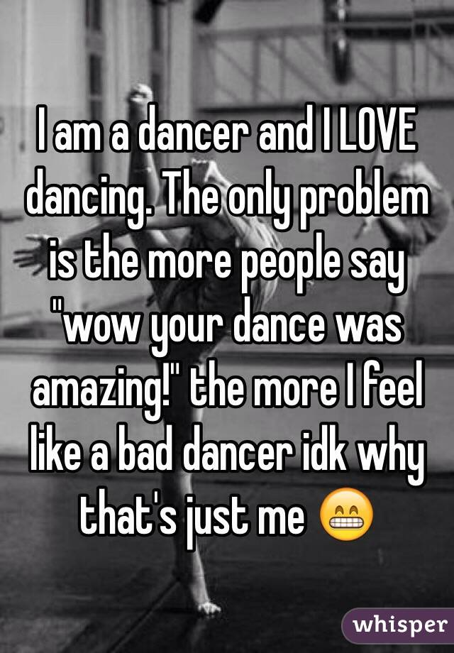 why people love to dance
