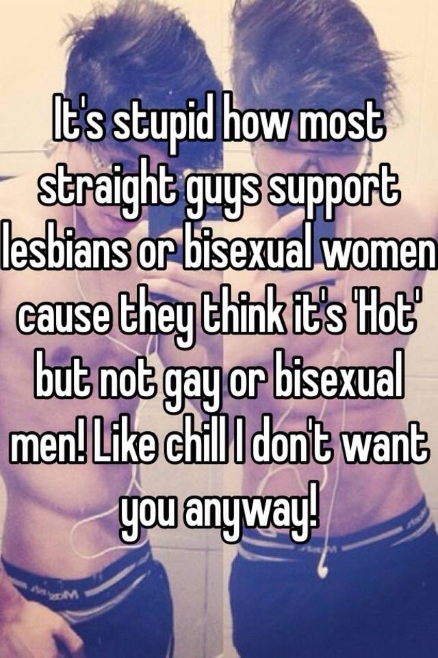 What do women think of bisexual men