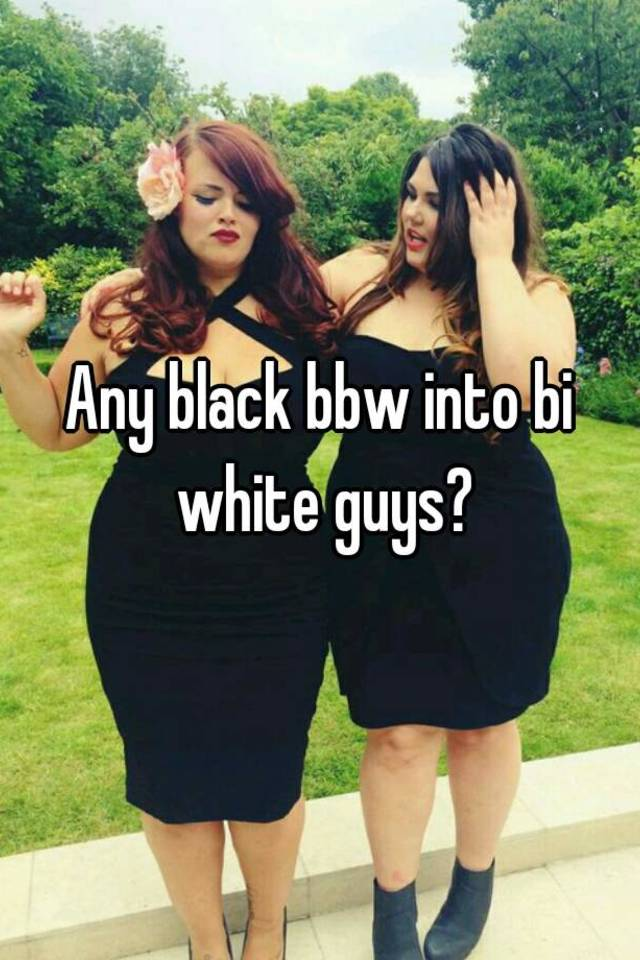 Black bbw with white guy