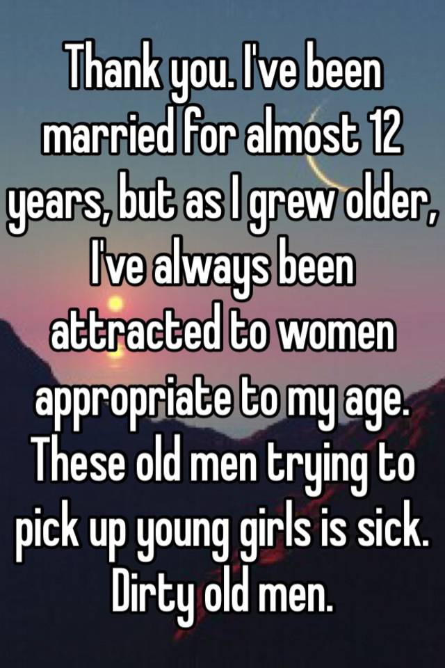 Older 12 men year old young