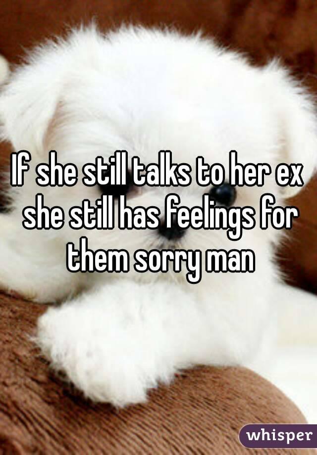 My Girlfriend Still Talks To Her Ex