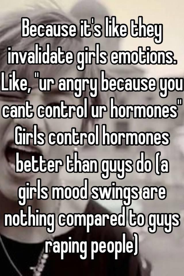 Invalidating womens anger