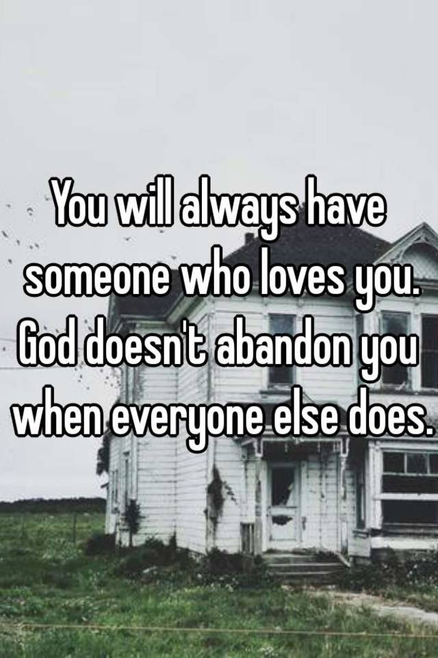 Does god have someone for everyone