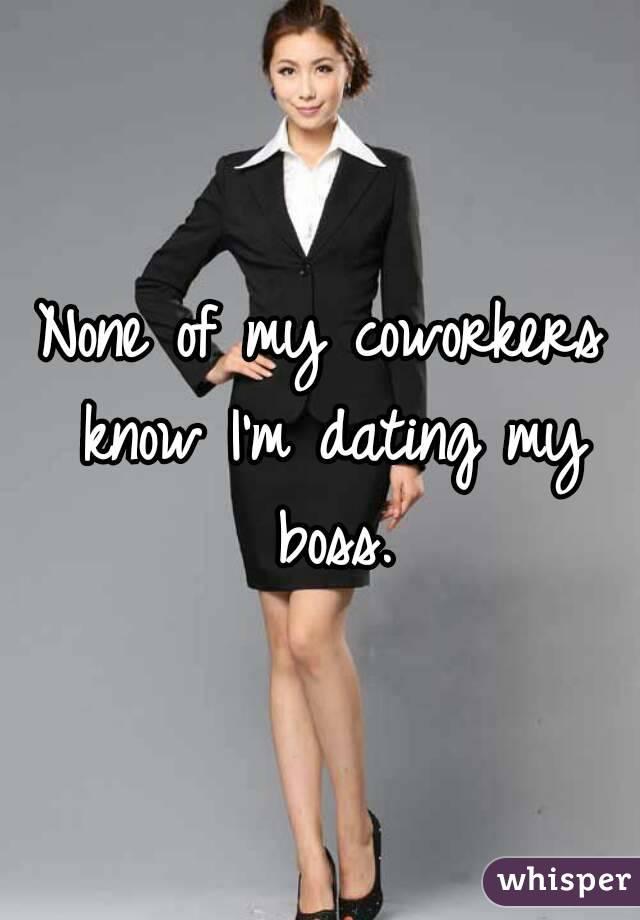 Dating my former boss
