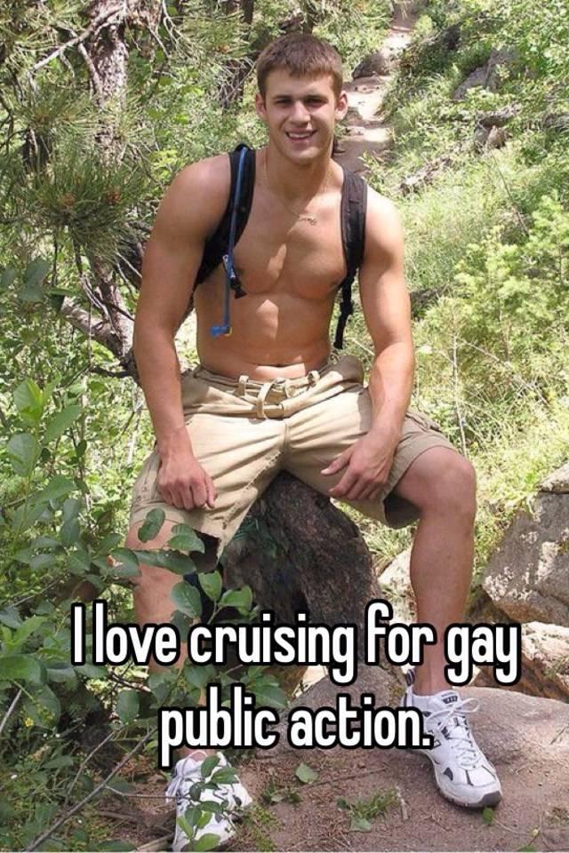Gay public cruising