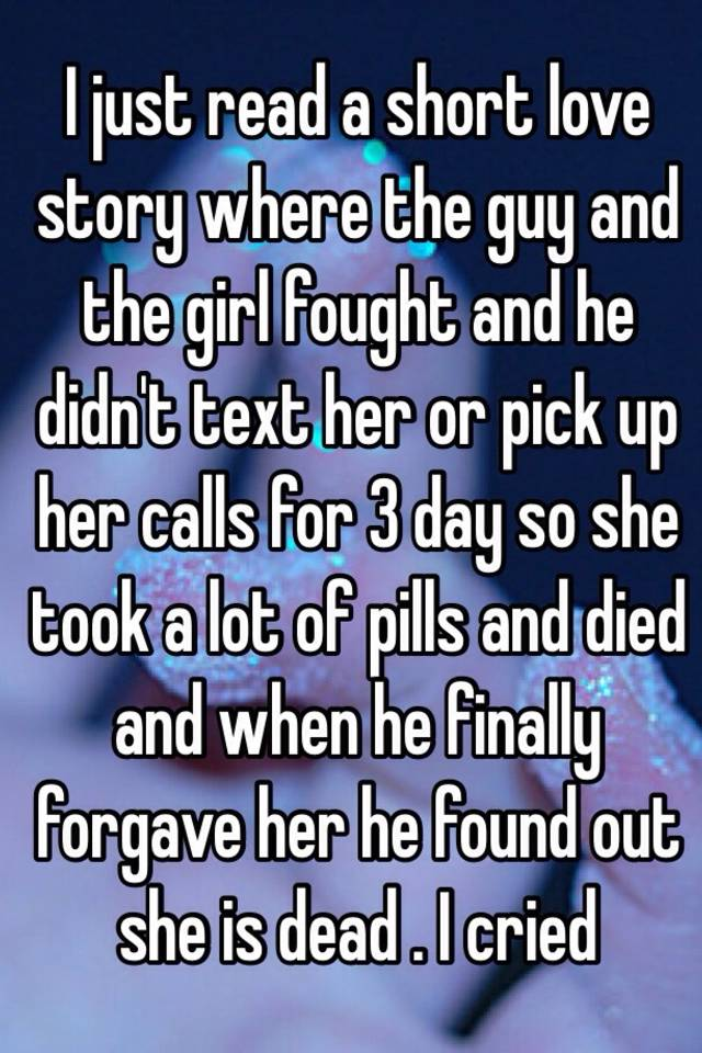 A short love story to read