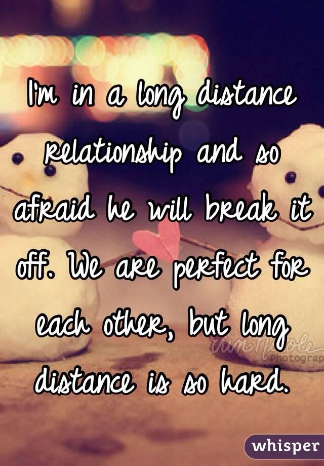 break long distance relationship