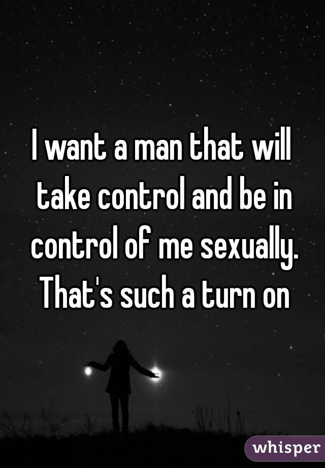Control husband sexually