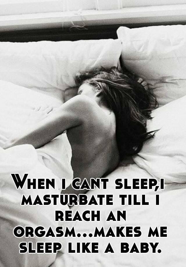 Orgasms in sleep