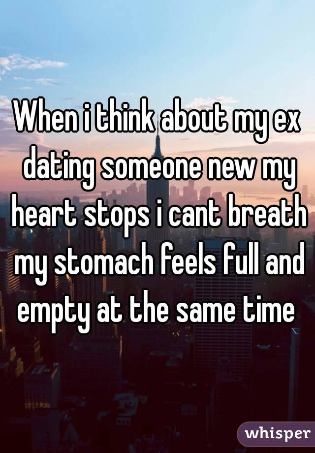 Ex is dating someone else already