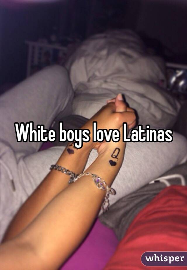Love white boys