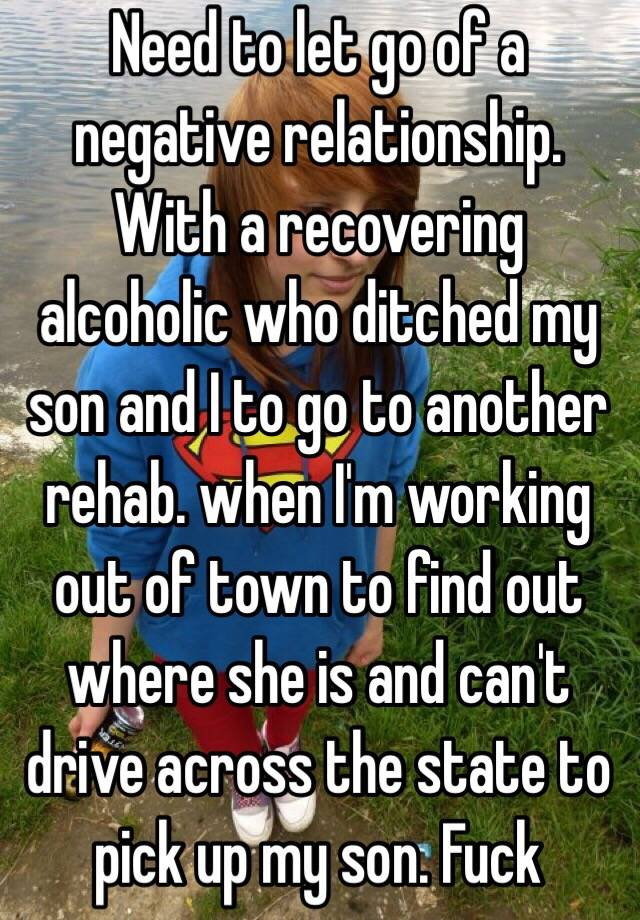 Having a relationship with a recovering alcoholic