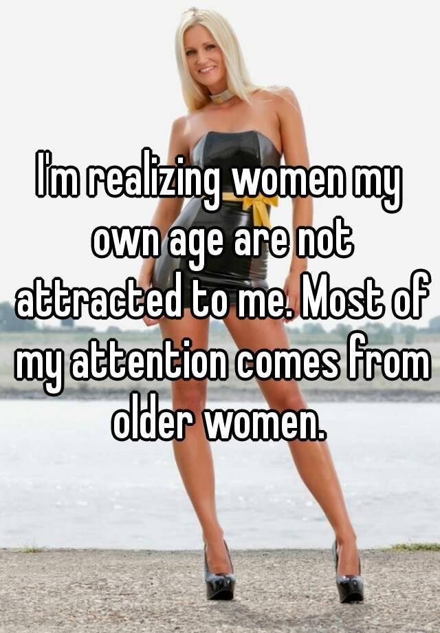 Women attracted to milf men