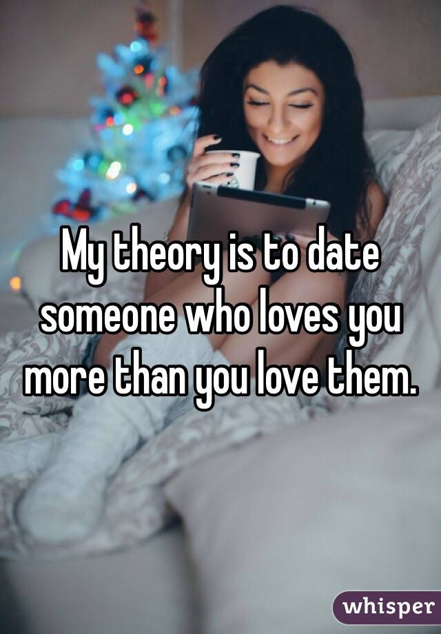 Dating Someone Who Loves You More