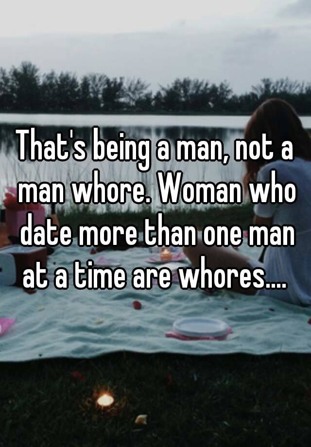 Man Dating More Than One Woman