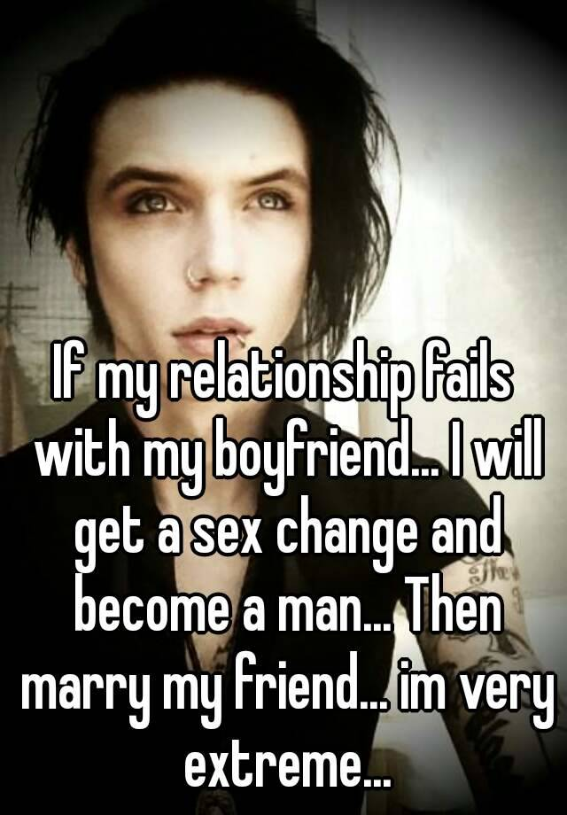 How sex change a relationship