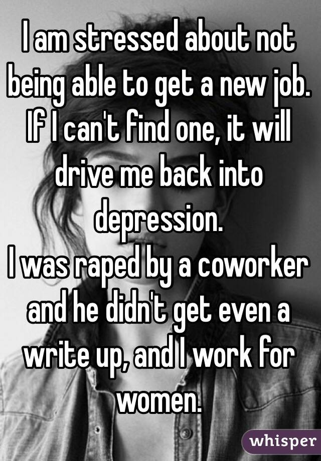 i can t find a job
