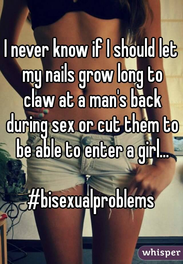 long nails claw during sex
