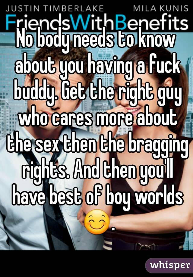 best place to find a fuck buddy