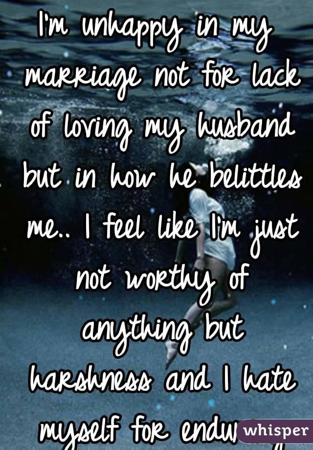 i am not in love with my husband